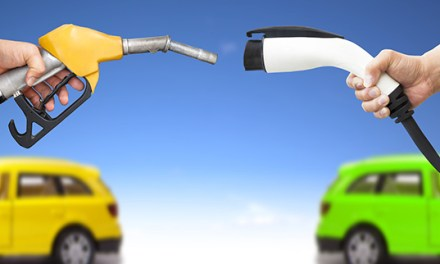 How the Race Between Electric and Liquid Fuel Vehicles Plays Out