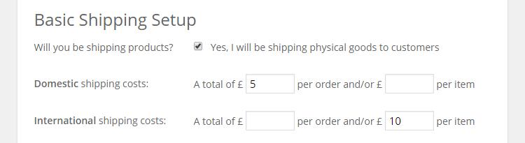 WordPress E-Commerce WooCommerce Shipping