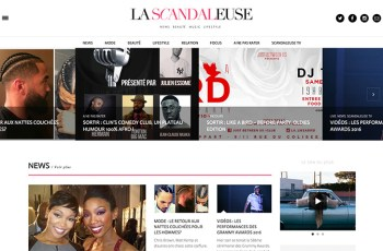 La Scandaleuse WordPress Theme