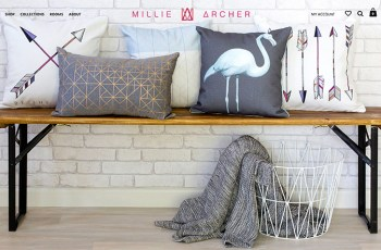 Millie Archer WordPress Theme