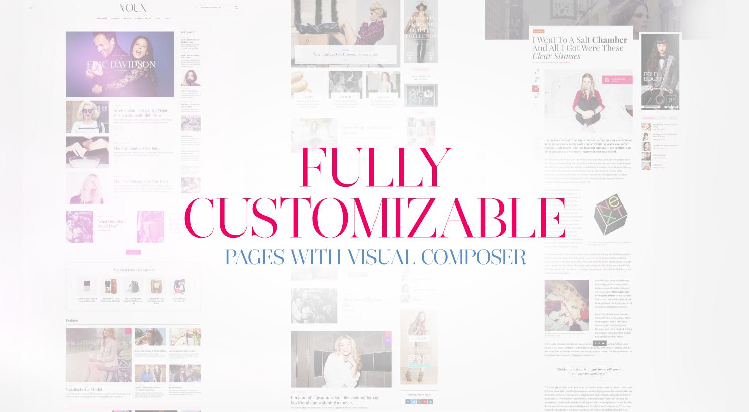 The Voux - A Comprehensive Magazine Theme