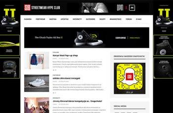 Street Wear Hype Club WordPress Theme