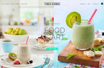 Tomer Burmad WordPress Theme