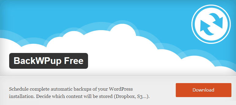 freemium wordpress plugins backwpup