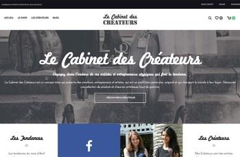 Le Cabinet des Créateurs WordPress Theme