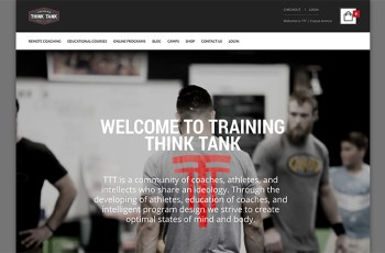 Think Tank WordPress Theme