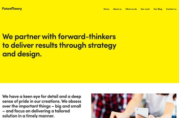 Future Theory WordPress Theme