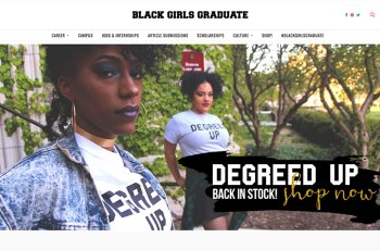 Black Girls Graduate WordPress Theme