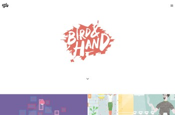 Bird & Hand WordPress Theme