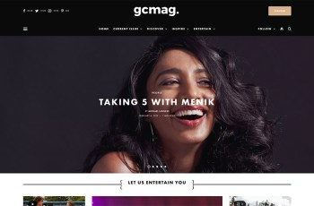 GC Mag WordPress Theme
