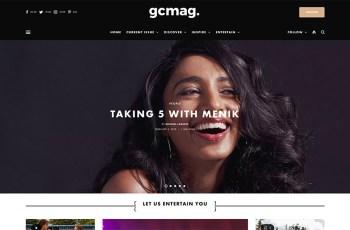 GC Mag WordPress Theme