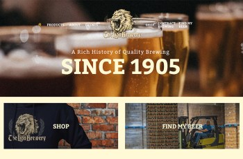 The Lion Brewery WordPress Theme