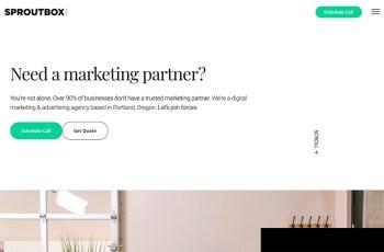 Sproutbox Media WordPress Theme