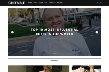 Chef Bible WordPress Theme