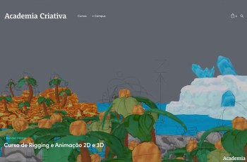 Academia Criativa WordPress Theme