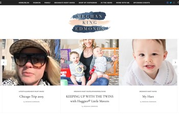 Meghan King Edmonds WordPress Theme