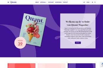 Quant Magazine WordPress Theme