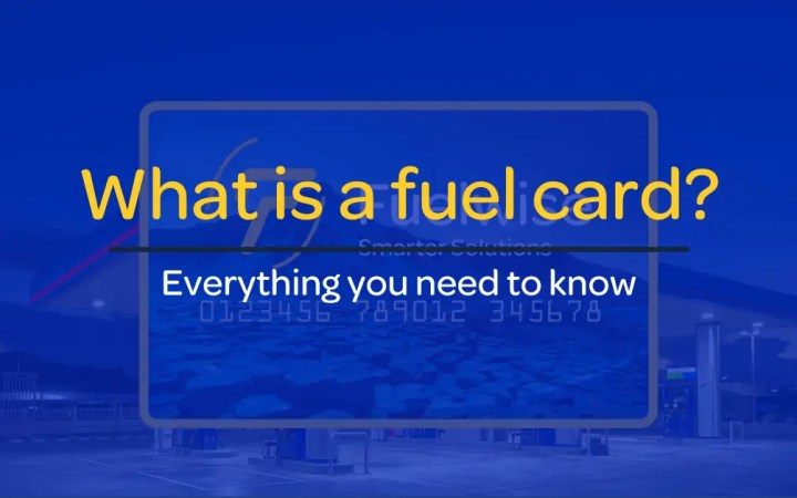 What Is a Fuel Card