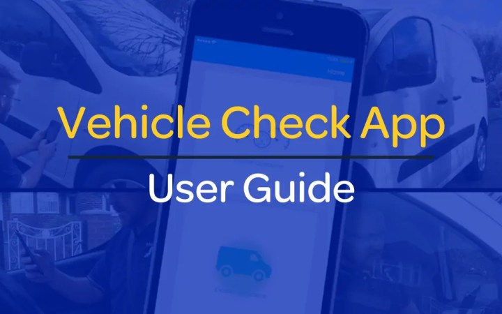 Vehicle-Check-App-User-Guide