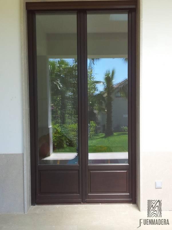 ventanas de madera en marbella