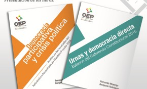 TSE presentará dos publicaciones sobre Democracia Directa y Democracia Participativa