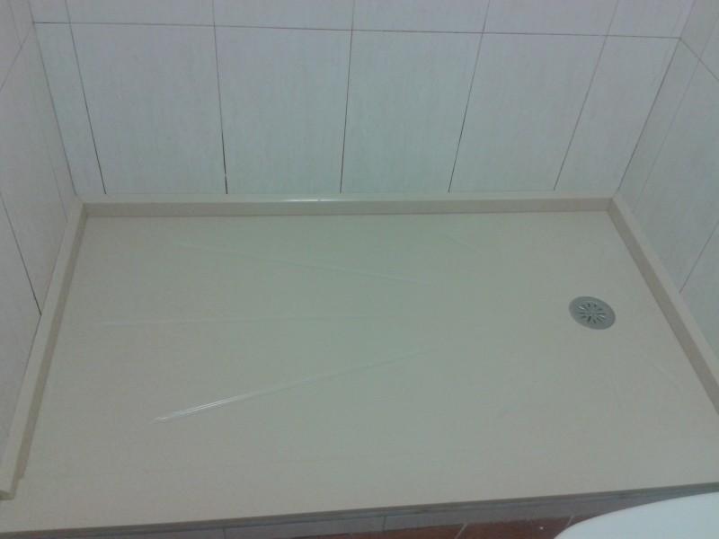 plato ducha ya puesto