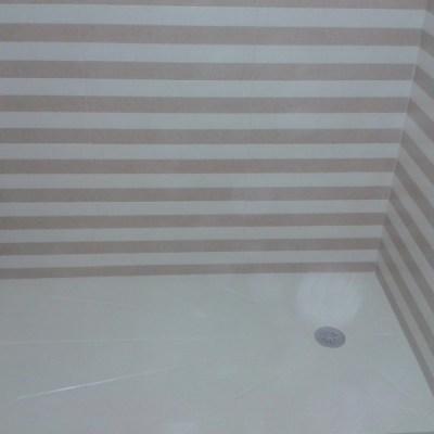 plato ducha compacto blanco