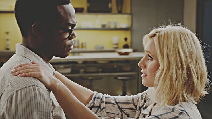 The Good Place- Eleanor and Chidi