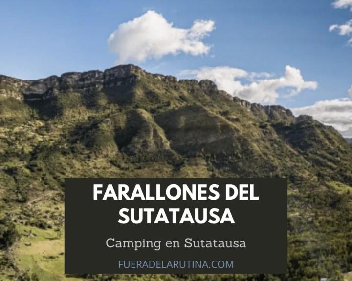 Donde acampar cerca a Bogotá