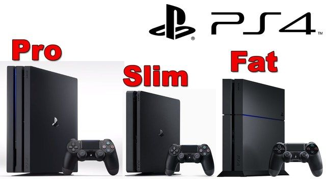 playstation 4 Pro,Slim y Fat