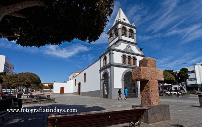 La iglesia Parroquial de Nuestra Señora del Rosario,