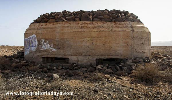 Bunker en las Salinas del Carmen (Antigua)