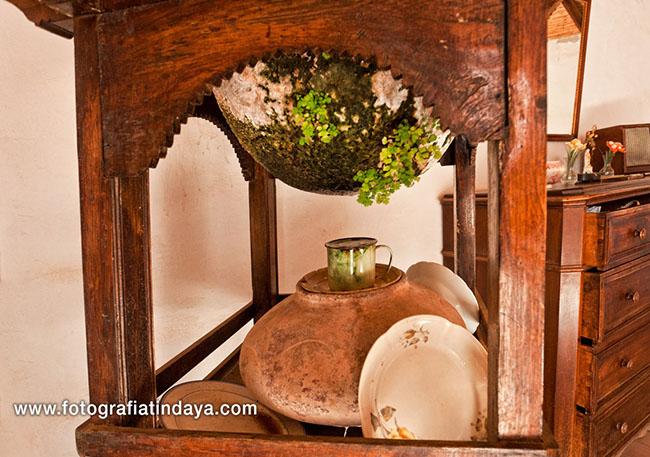 Las destiladeras fueron un elemento principal en todas viviendas tradicionales de las islas Canarias
