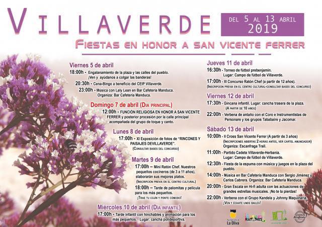 Fiestas en Honor a San Vicente Ferrer