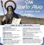 Fiestas de San Benito Abad - La Pared 2019