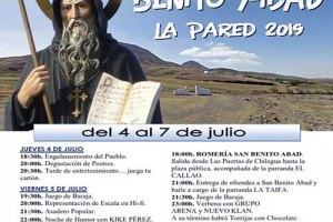 Fiestas en honor a San Benito Abad - La Pared 2019