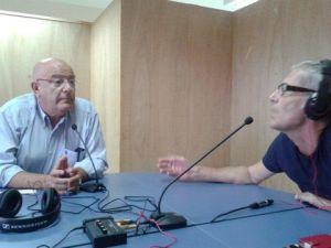 Antonio Vicente Hormiga y Sergio Lavandera