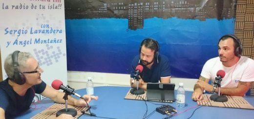 Andrés Briansó y Gustavo García, de Podemos