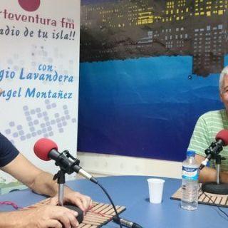 Carmelo Cabrera presidente de la Agrupación Astronómica de Fuerteventura