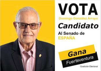 Domingo Gonzalez Arroyo Candidato al Senado