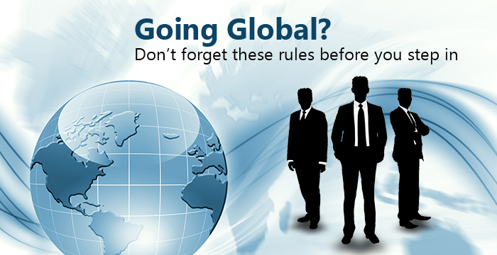 take your business to global level market