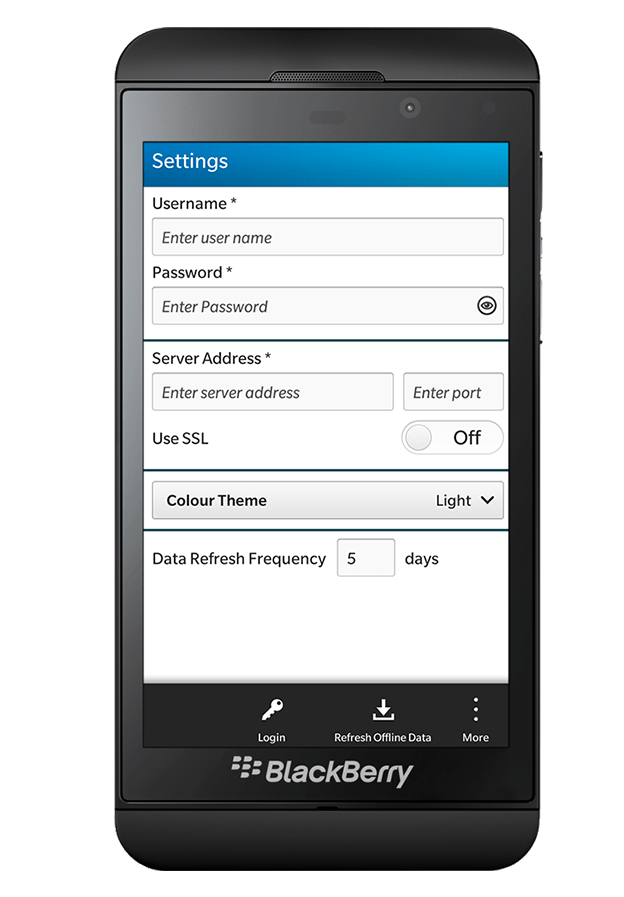 Qinvest-Blackberry application3