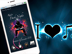 Dark Night music app