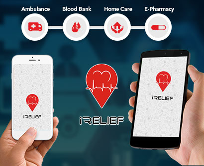 irelief_mobile_application