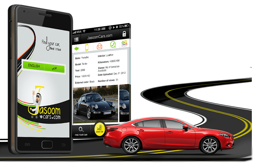 JasoomCars-Mobile app development