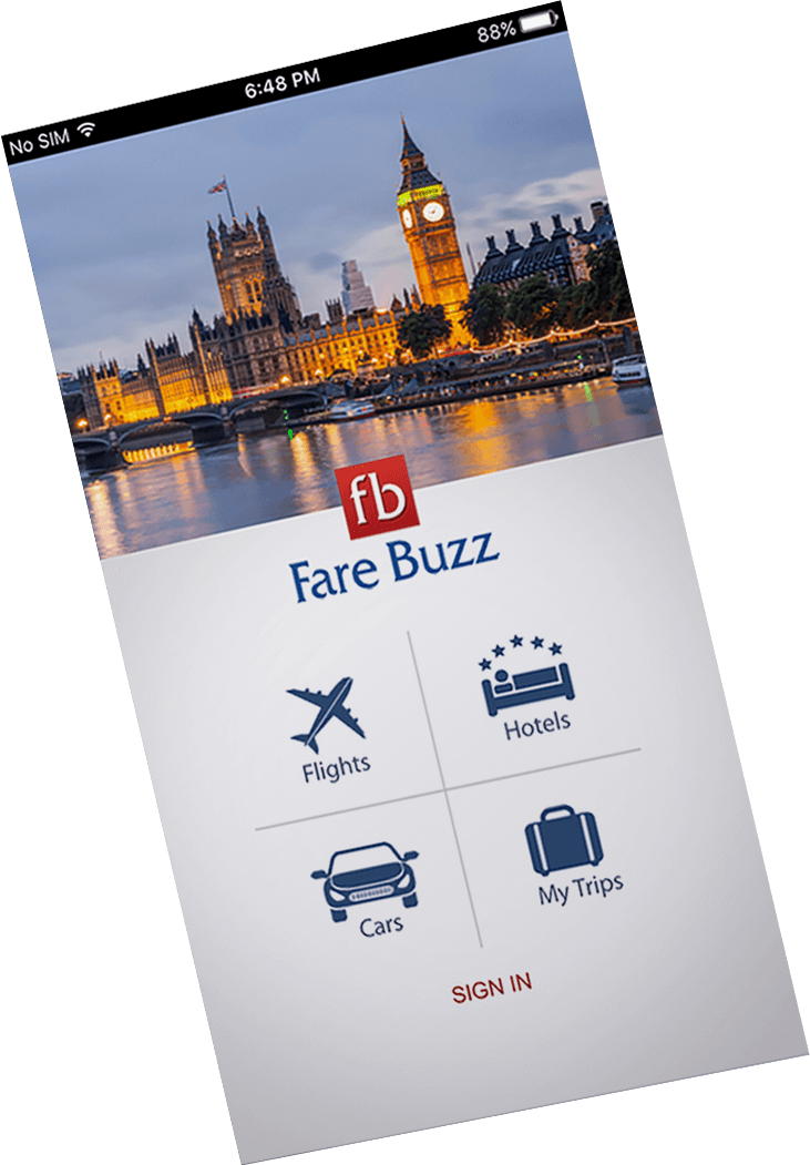 Fare Buzz App Design-FuGenX