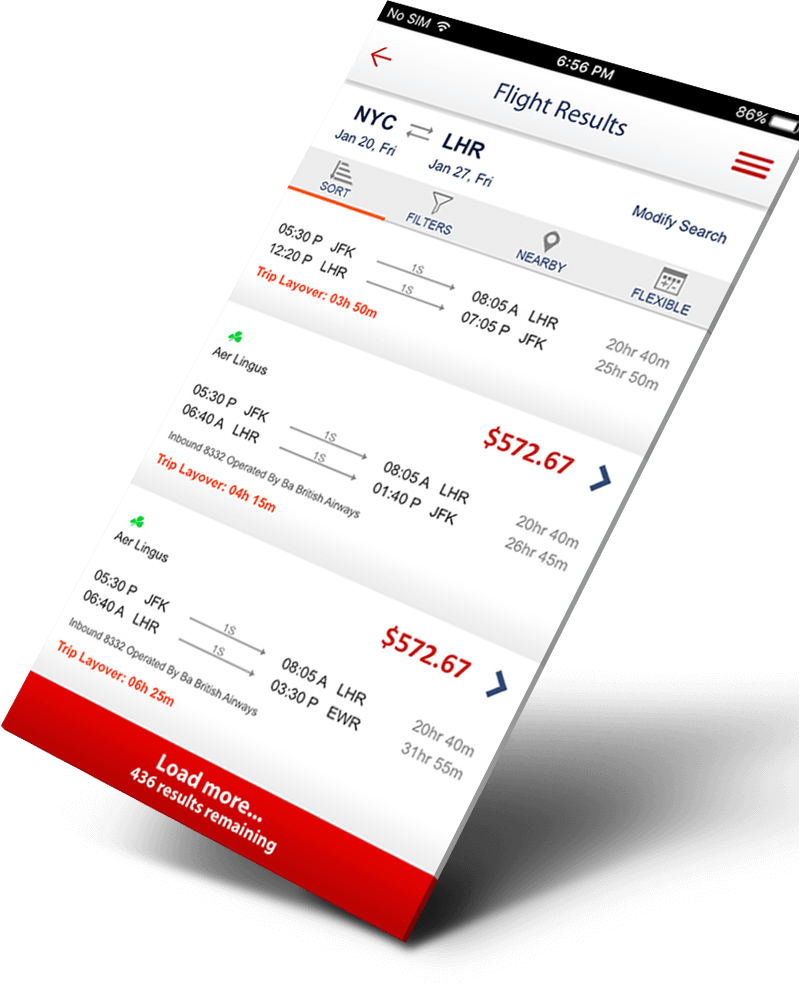 Fare Buzz App Design3