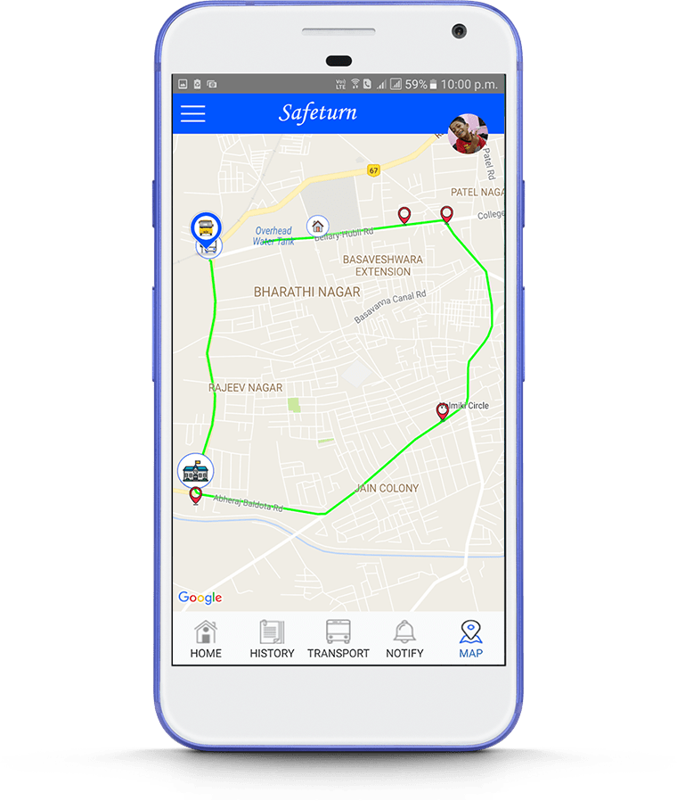 Safeturn Bus- mobile app development3