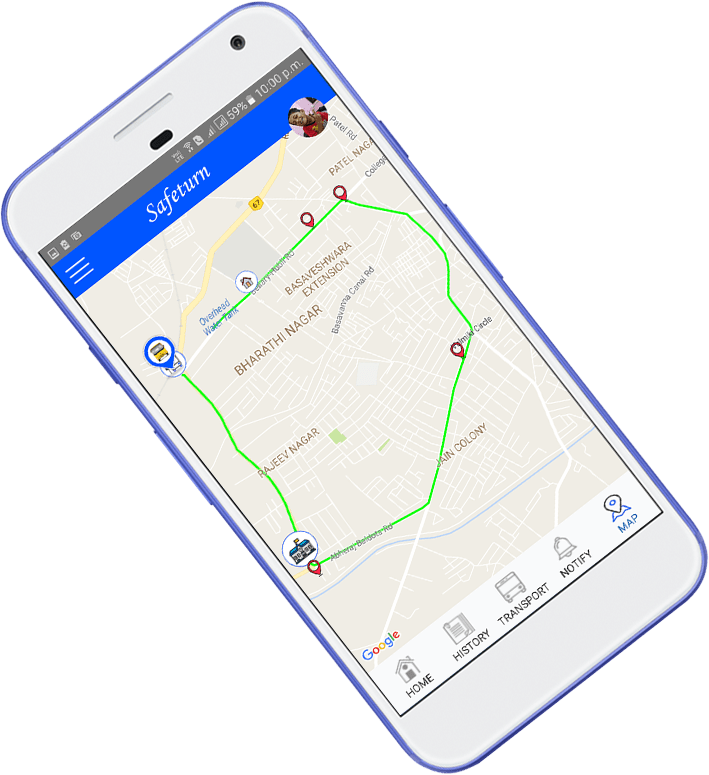 Safeturn Bus- mobile app development7