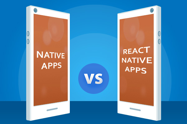 Native and React Native on various paramet